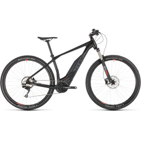 Cube Acid Hybrid Pro 500 E-mountainbike sort